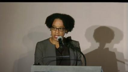 Monica McLemore at the White House Frontiers Conference October 2016